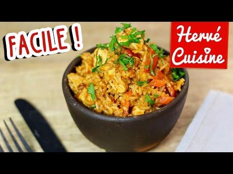 recette-riz-au-poulet-facile-(one-pot-chicken-rice)