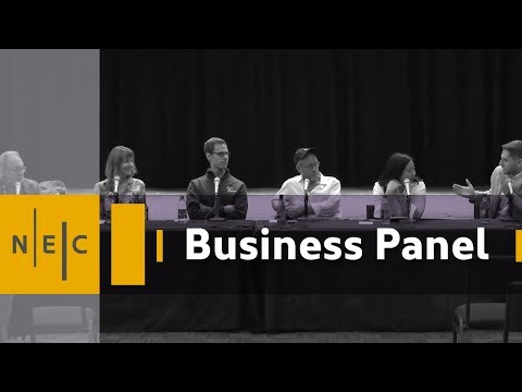 Music Business Panel at NEC