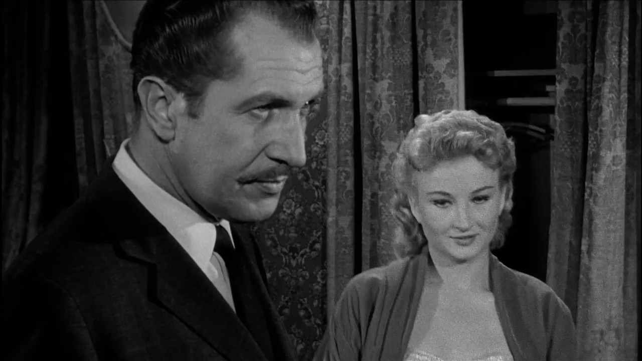 Vincent Price In House On Haunted Hill In Hd 1959 Youtube