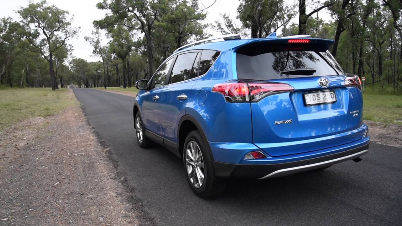 2016 toyota rav4 d 4d diesel 0 100km h engine sound. Black Bedroom Furniture Sets. Home Design Ideas