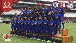 Resumen Cruz Azul 3 - 0 Puebla | Apertu...