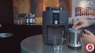 Как приготовить капучино или латте с помощью Krups серии EA82
