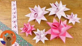звезда Фребеля своими руками  Оригами  Ёлочные игрушки