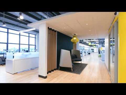 Aménagement de bureaux - Groupe Pages Jaunes, Nordelec, Montréal