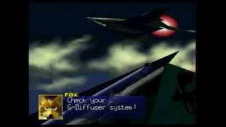 Star Fox 64 - CamStudio - Corneria, The Fourth Planet - (N64 Gameplay & Commentary)