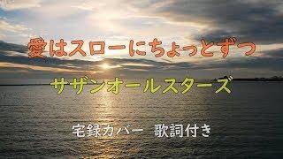Cover images 『愛はスローにちょっとずつ/サザンオールスターズ』歌詞付き cover by こすぎだいふく