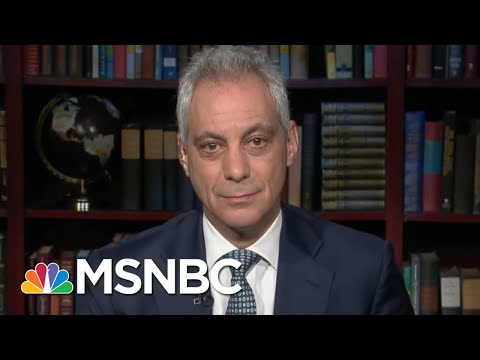 Rahm Emanuel: Dems' Job Is To Separate President Donald Trump From His Base | Morning Joe | MSNBC