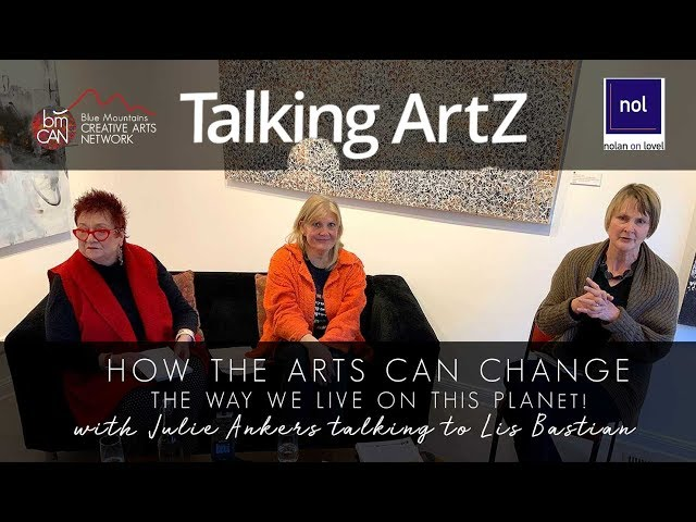 Talking ArtZ | Live Podcast Event Episode 10 | Julie Ankers with Big Fix's Lis Bastian