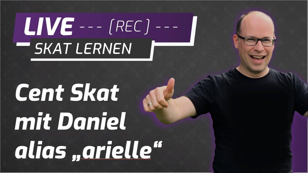 """Cent Skat Live mit Daniel alias """"arielle"""" #20"""