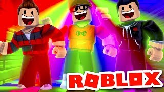 DANCE PARTY IN ROBLOX GOES WRONG