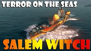World of Warships - Salem Witch - Terror on the High Seas
