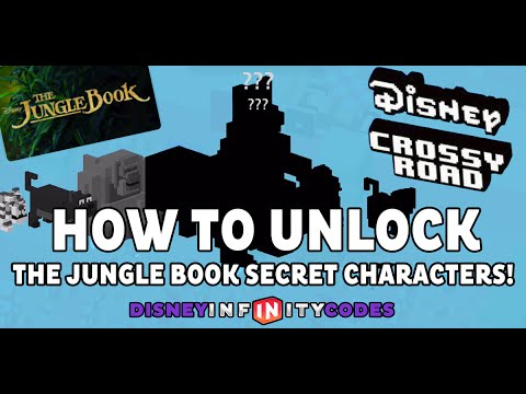how to get unlockable characters in crossy road