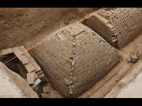 Mystery of the 'pyramid of China: Archaeologists discover strange tomb u...