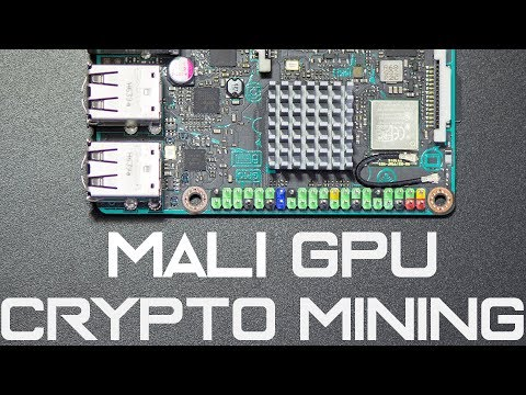 Mali GPU Mining on Tinkerboard SBC