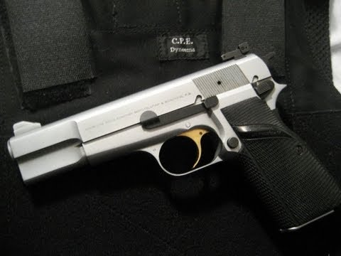 FN Browning HiPower 9mm Silverchrome - General thoughts ...