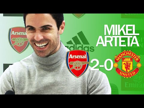 I LIKE TO SEE THEM SUFFER I Mikel Arteta I Arsenal 2-0 Manchester United