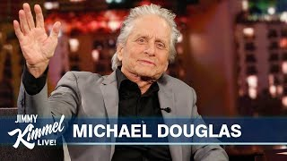 Michael Douglas on Wedding Anniversary, Father Kirk Douglas & Marvel Spoilers