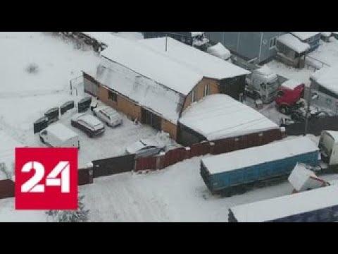 В Истре среди жилых домов появился стихийный автосервис для большегрузов - Россия 24