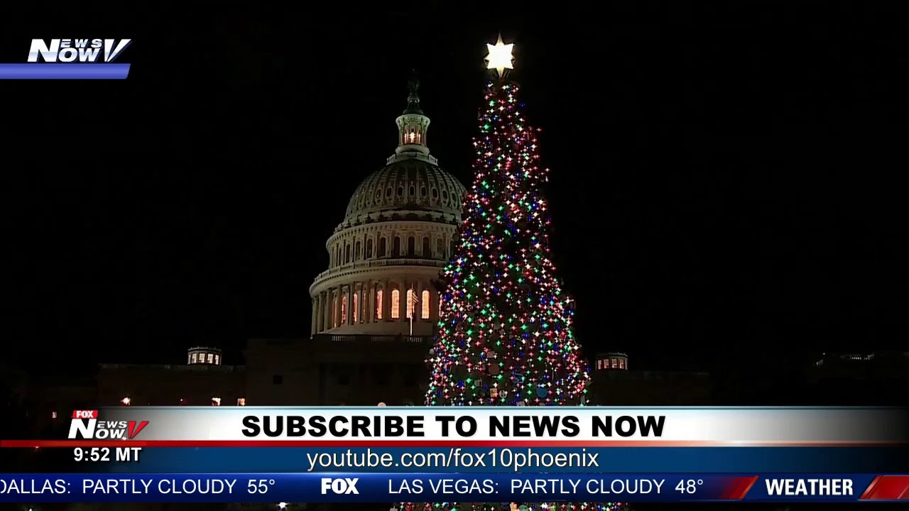 Capitol tree lighting, NATO highlights & stories from across the country