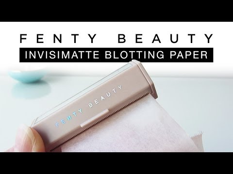 FENTY Beauty   Invisimatte Blotting Paper   First Impressions and Review