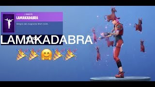 FORTNITE LAMAKADABRA iss there and SHOP
