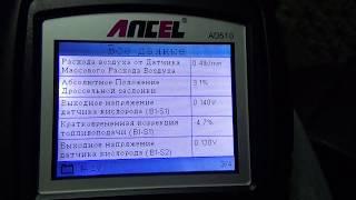 Функции диагностического сканера для авто Ancel AD 510