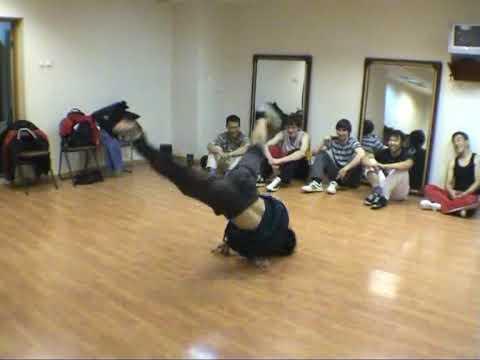 021 bboy Shy (Post Scriptum crew) vs bboy Nano One (Attention crew)  at Sakhalin ABC 2009