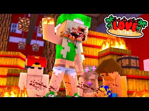 LOVE ISLAND    CRAZY NEW GIRL BURNS LITTLE KELLY & DONNY WHILE THEY SLEEP    Minecraft Roleplay