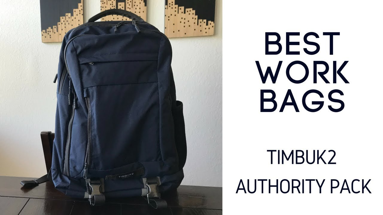 Best Work Backpacks: Timbuk2 The Authority Pack Review - YouTube