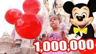 1000000 Подписчиков на канале Дианы ДИСНЕЙЛЕНД и МИННИ МАУС в Подарок ВЛОГ от ✿ Kids Diana Show