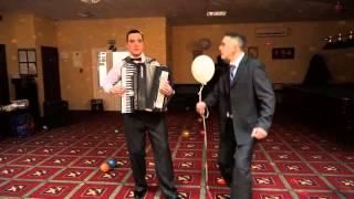 Супер зажигательный аккордеон на свадьбе. Украина