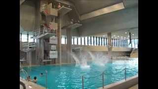 Splash-Diving 10m Sprungturm