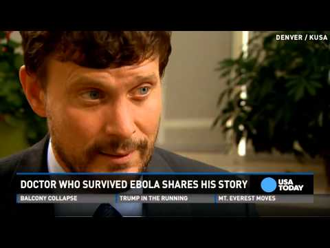 Ebola doctor shares experience, hopes to teach others