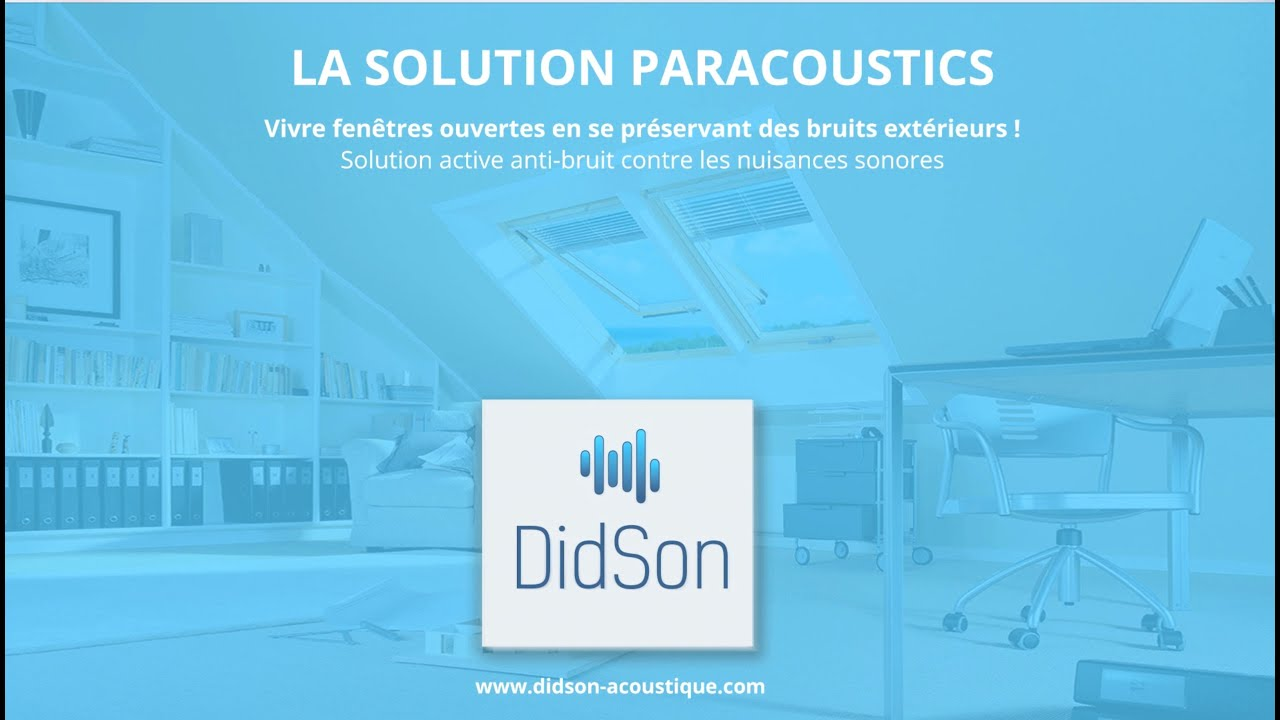 Didson Solution Active Anti Bruit Youtube