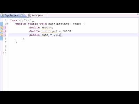 Java Programming Tutorial  23  Compound Interest Program