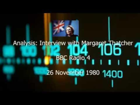 Analysis: Interview with Margaret Thatcher