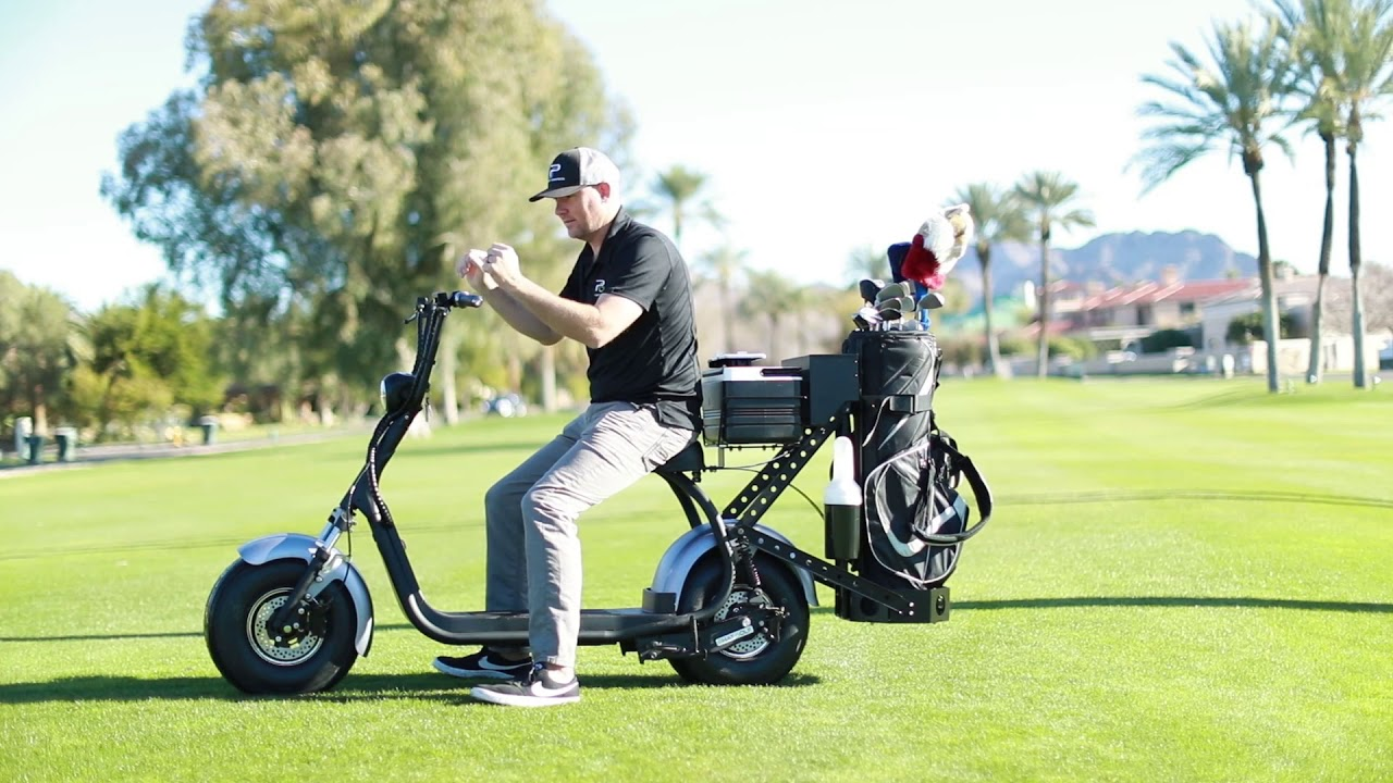 Phat Golf Scooter - Safety & Ride Training - YouTube