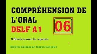 DELF A1 - Compréhension de l'oral (no 6)