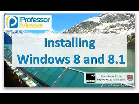 Descargar Video Installing Windows 8 and 8.1 - CompTIA A+ 220-902 - 1.2