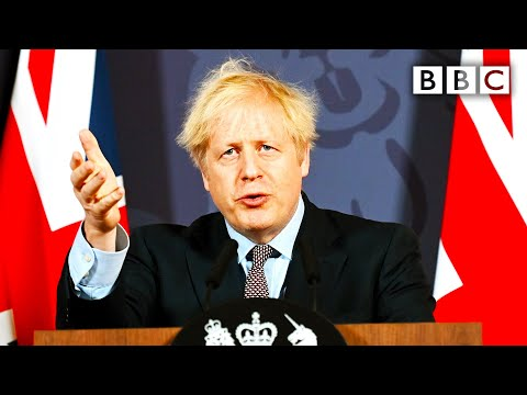 Brexit deal: Boris Johnson announces UK and EU trade deal 🔴 @BBC News live - BBC