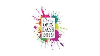 Clarity Open Days 2019