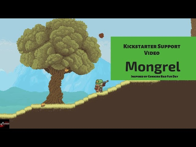 Kickstarter Support Video - Mongrel! One frog against a world of Poop Monsters