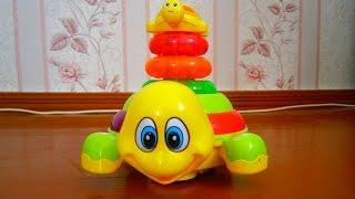 Интерактивная игрушка черепаха, или что подарить ребенку? The interactive turtle. Gifts for kids