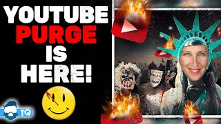 Youtube BANS 25,000 Accounts For