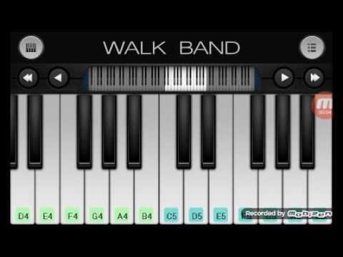 Triad Cinta gila keyboard versi walk walband