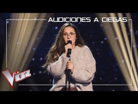 Auba Estela Murillo canta 'Con las ganas' | Audiciones a ciegas | La Voz Antena 3 2019