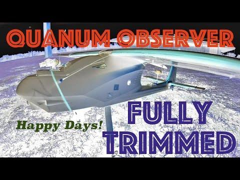Quanum Observer FPV TRIMMED RC Plane