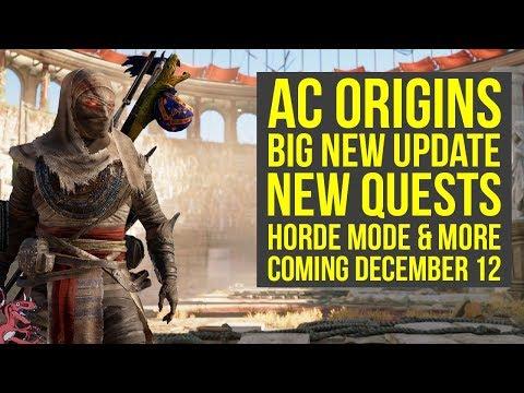Assassin's Creed Origins DLC BIG NEW UPDATE Coming Dec 12 + Trial of the Gods Returns (AC Origins