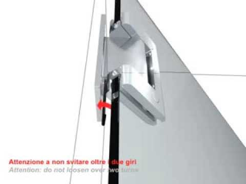 Stemcor Architectural Self Closing Hydraulic Glass Hinge Bilobav