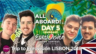 Trip to Eurovision 2018 Lisbon ENGLISH - Daily Vlog 5 - Jologe
